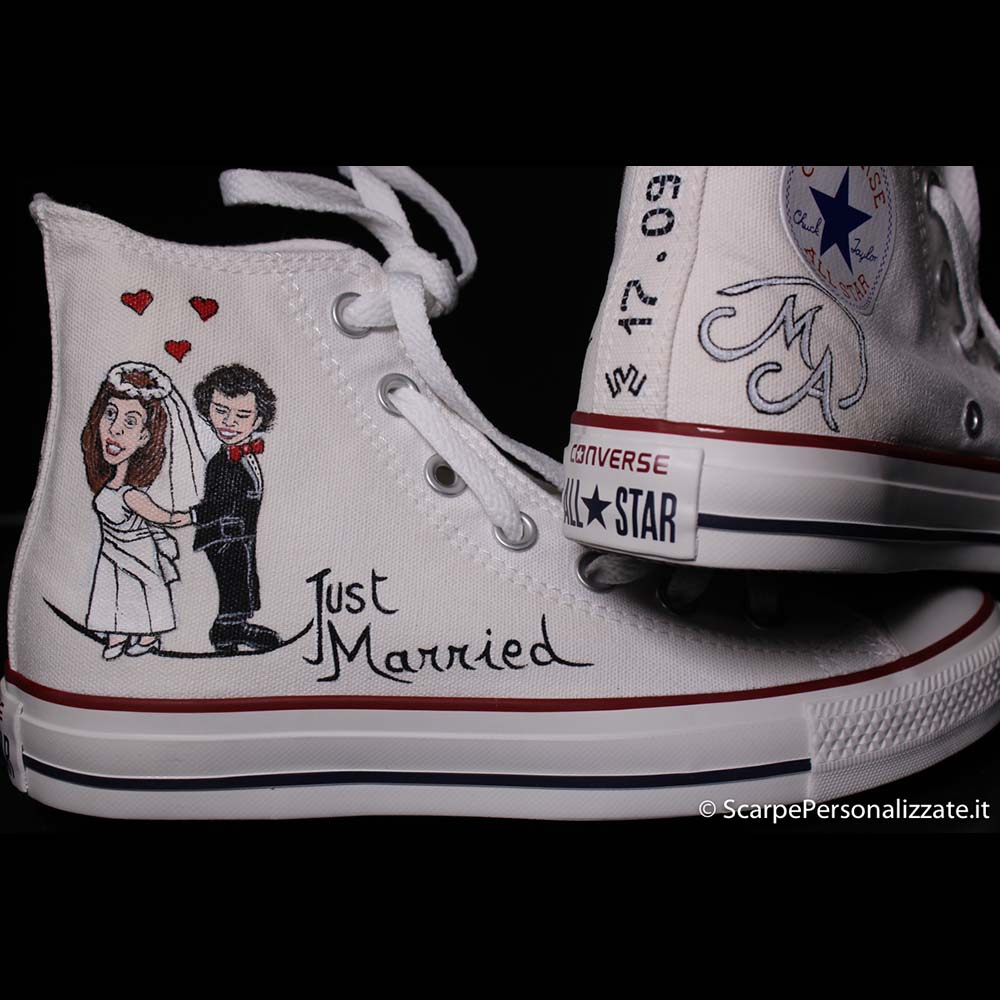 converse scarpe sposa
